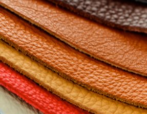 Abrasives for the leather industry